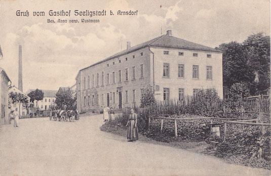 Bild: Teichler Seeligstadt Sachsen Erbgericht