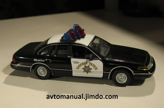 ford crown victoria highway patrol police version