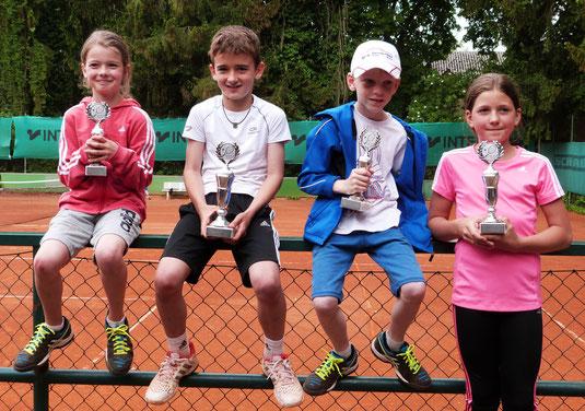 Greta, Tom, Mario und Julia