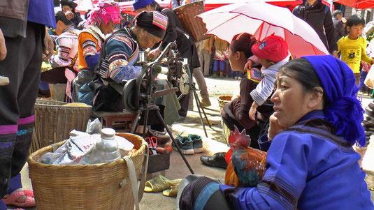 Au marché de Shengcun
