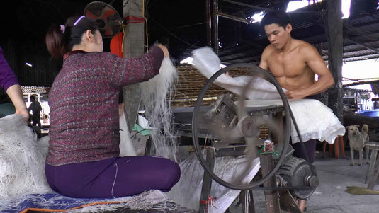 Fabrique de nouilles de riz