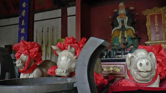 Temple de Confucius à Janshui