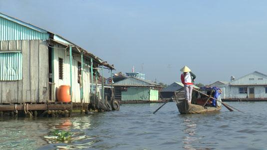 Maisons flottantes et pisciculture