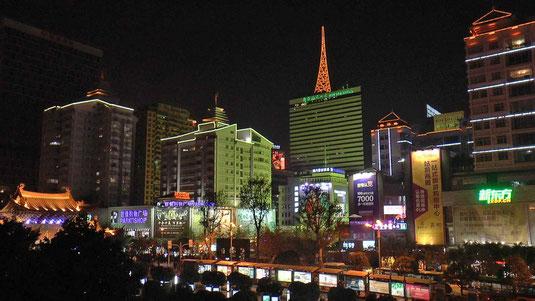 Kunming by night