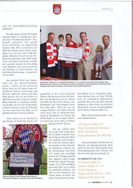 FC Bayern Magazin Teil 2