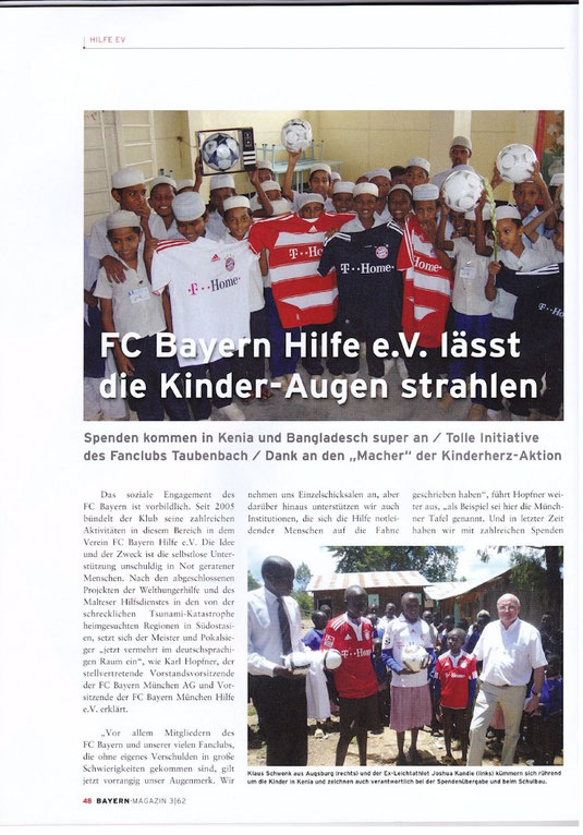 FC Bayern Magazin Teil 1