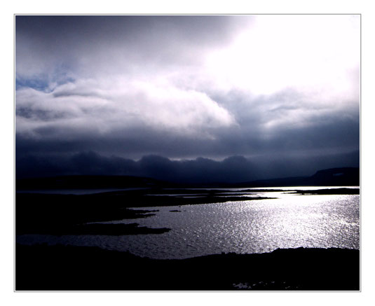 Norwegen, dramatic landscape