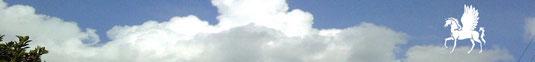 Пегас на облаке