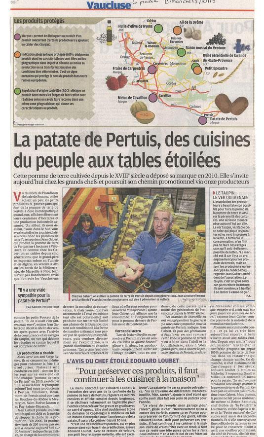 La Provence 13 octobre 2013