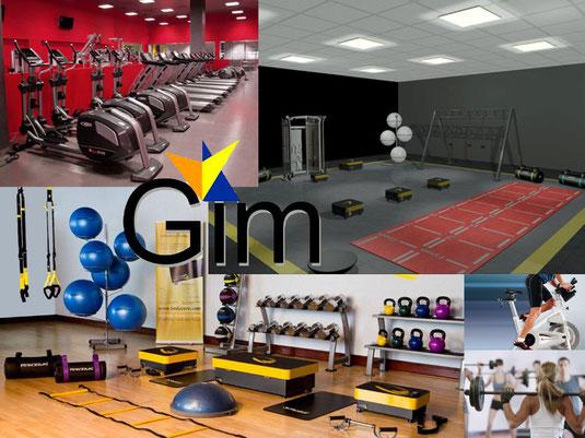 Equipamiento gimnasios equipamiento centros deportivos - Equipamiento de gimnasios ...