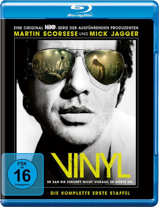 VINYL Serie - Martin Scorsese - Mick Jagger - Warner Bros - kulturmaterial - Blu-ray
