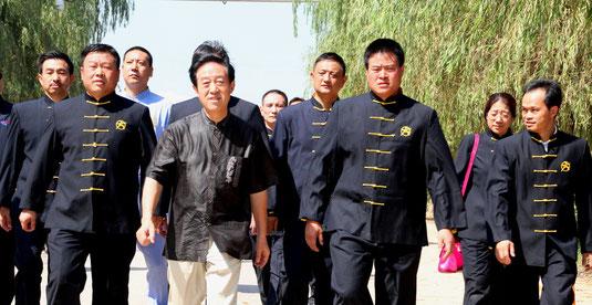 Grand Maître CHEN Zhenglei  et ses élèves  spécial