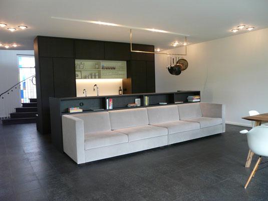 küche schwarzbraun