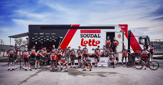 First Lotto Soudal  training camp Mallorca
