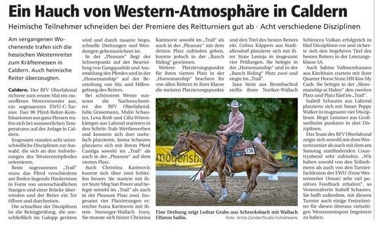 Oberhessische Presse vom 07.09.2016