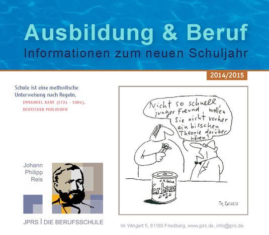 JPRS Info-Broschüre 2014/15