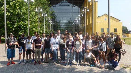 Die Schüler der JPRS in Parma