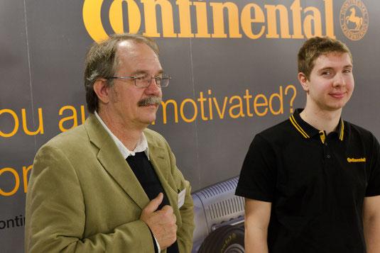 Are you motivated? Der JPRS-Partner und Arbeitgeber Continental hält Ausschau nach motivierten Mitarbeitern!