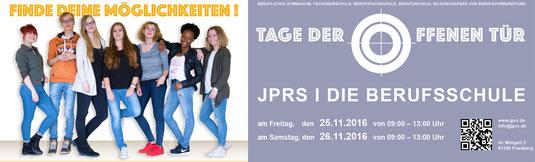 Plakat für TDOT 2016. Design: Adrian Nestoriuc und die Schüler der FOS-Gestaltungsklassen