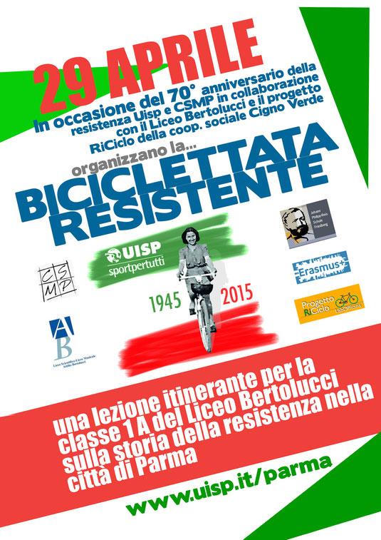 """Radtour zu bedeutsamen Stätten des italienischen Widerstandes zur Zeit der Nazibesetzung Italiens (""""Bicicletta Resistente"""")"""