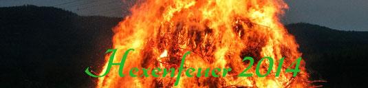 Bild: Wünschendorf Hexenfeuer 2014