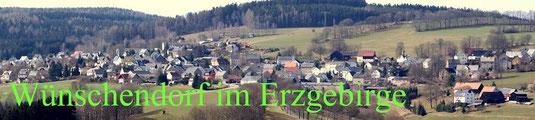 Bild: Wünschendorf Erzgebirge Dorf