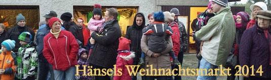 Bild: Teichler Wünschendorf Erzgebirge Hänsels Weihnachtsmarkt 2014
