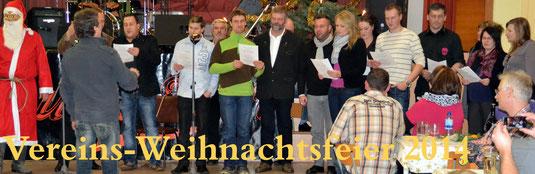 Bild: Wünschendorf Erzgebirge Vereinsweihnachtsfeier 2014