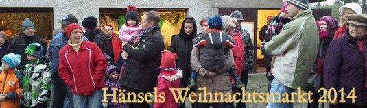 Bild: Wünschendorf Erzgebirge Teichler Hänsels Weihnachtsmarkt 2014