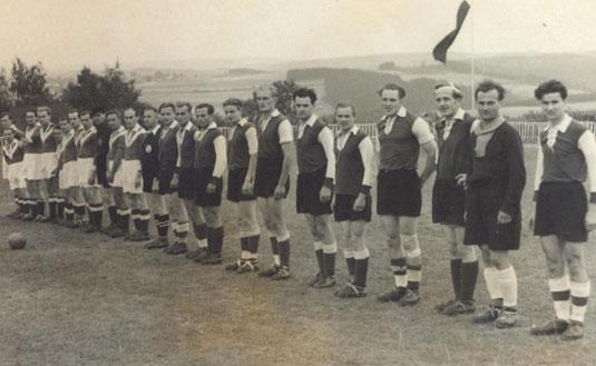 Bild: Teichler Wünschendorf Erzgebirge Fußball