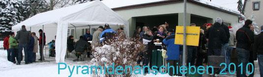 Bild: Wünschendorf Pyramidenanschieben 2010