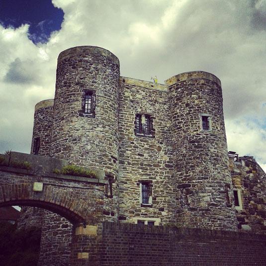 Otro de los atractivos turísticos de Rye/Tilling, el castillo. El de Rye es el Ypres Castle, junto a la puerta sur de la ciudad.