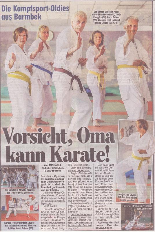 Bildzeitungsartikel am 5.August 2014