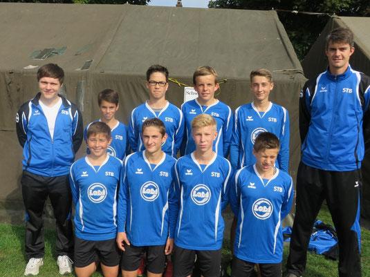 Deutsche Meisterschaft der Landesturnverbände 2014 Kellinghusen - Schwaben U14m