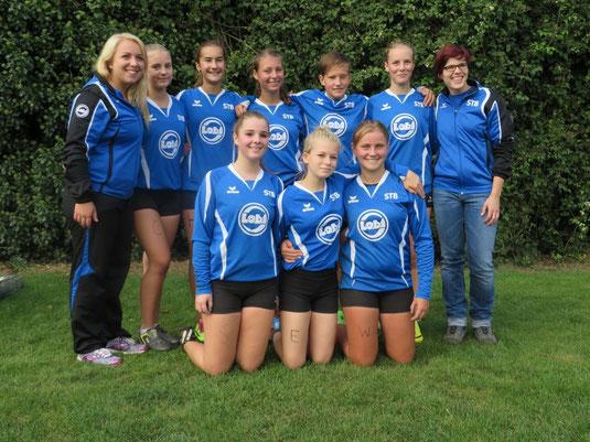 Deutsche Meisterschaft der Landesturnverbände 2014 Kellinghusen - Schwaben U14w