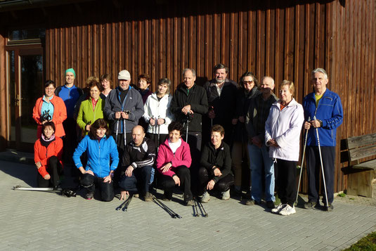 Die Aktiven bedanken sich über zahlreiche Gäste beim Frühstückslauf.