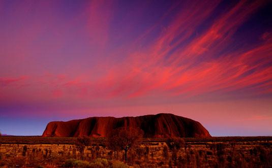 wer kennt ihn nicht? Uluru (Ayers Rock)