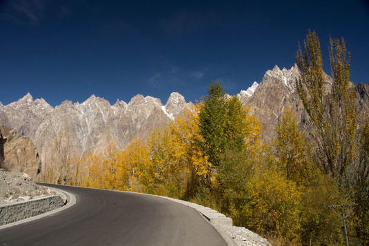 Karakoram Highway, Passu