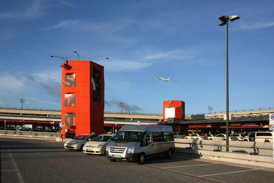 Wir bringen Sich sicher und rechtzeitig zur Ihrem Flug!
