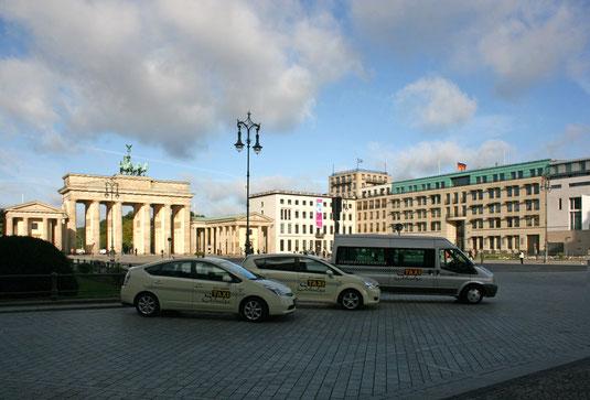 Stadtrundfahrt mit Taxi Schulze zu den schönsten Plätzen Berlins.