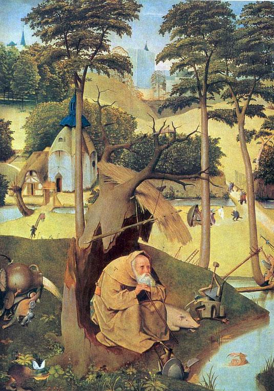 Die Versuchung des heiligen Antonius, Hieronymus Bosch