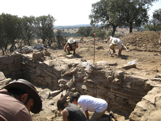 Archaeological excavation 2009