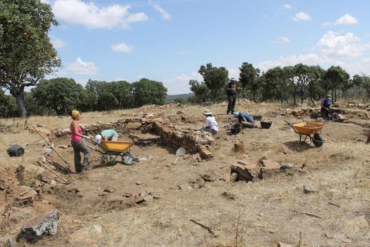 Excavaciones durante el año 2014