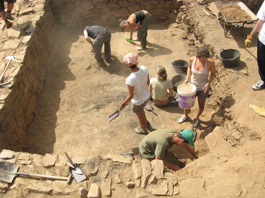 Archaeological work 2009