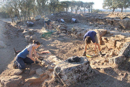 Archaeological excavation 2011