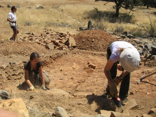 Archaeooogical excavation 2008