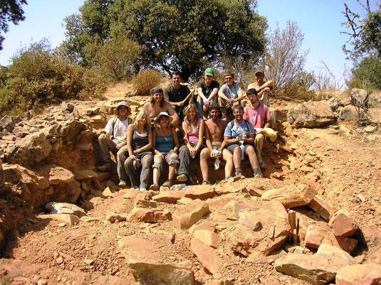 II Campaña de excavaciones en El Castillón - 2009