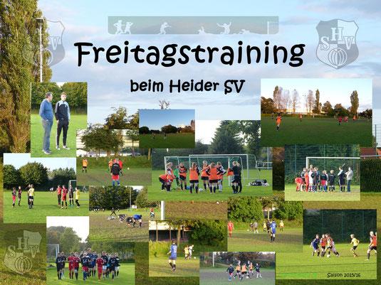 C1-Jugend & Damen Training am 25.09.2015