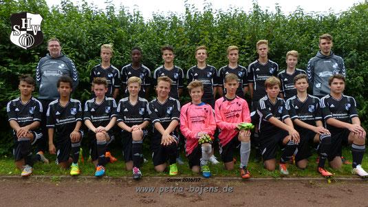 04.09.2016  - Testspiel in Bredstedt - SG Mitte NF - Heider SV  1-7