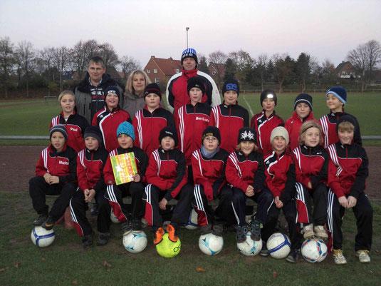 E1-Jugend SV Hemmingstedt- Saison 2011/12